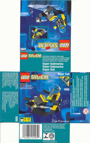 LEGO Set-Super Sub-Aquazone / Aquasharks-1095-4-Creative Brick Builders