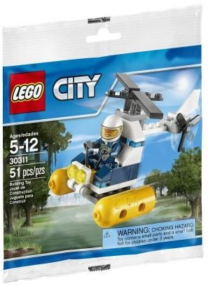 LEGO Set-Swamp Police Helicopter (Polybag)-Town / City / Police-30311-1-Creative Brick Builders
