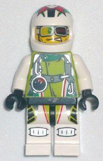 LEGO Minifigure-Team X-treme Daredevil 2 (DEX-treme)-World Racers-WR008-Creative Brick Builders