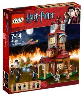 LEGO Set-The Burrow-Harry Potter-4840-1-Creative Brick Builders