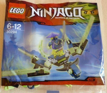 LEGO Set-The Cowler Dragon (Polybag)-Ninjago-30294-1-Creative Brick Builders