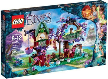 LEGO Set-The Elves' Treetop Hideaway-Elves-41075-1-Creative Brick Builders