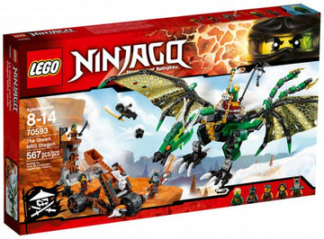 LEGO Set-The Green NRG Dragon-Ninjago-70593-1-Creative Brick Builders