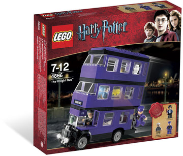 LEGO Set-The Knight Bus-Harry Potter-4866-1-Creative Brick Builders