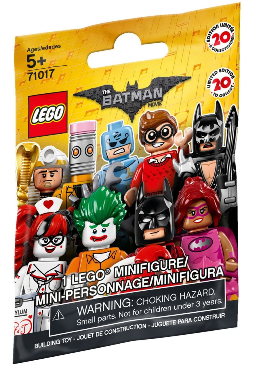 LEGO Minifigure-The LEGO Batman Movie Series 1-Collectible Series Polybag-71017-1-Creative Brick Builders