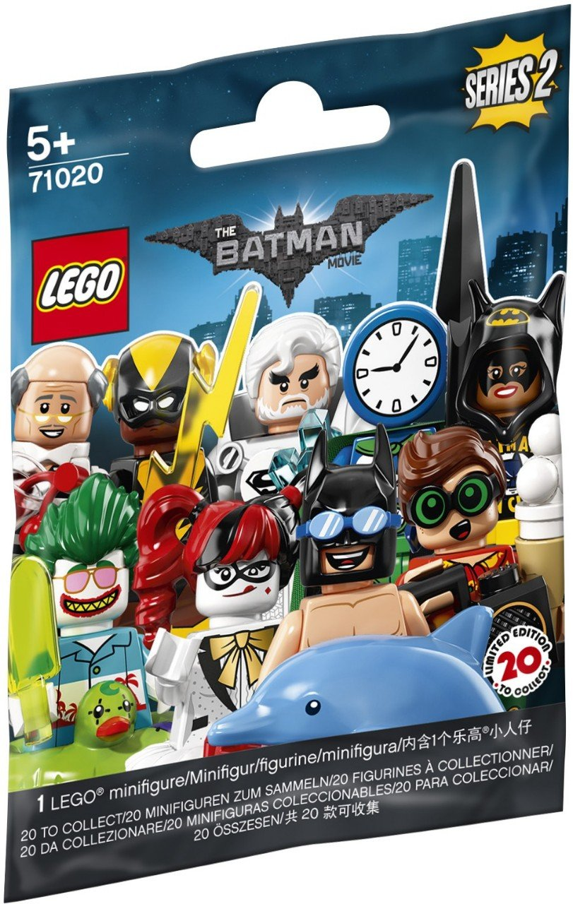 The Lego Batman Movie Series 2 Lego Minifigures Collectible Series Polybag Creative Brick Builders
