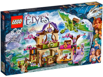LEGO Set-The Secret Market Place-Elves-41176-1-Creative Brick Builders