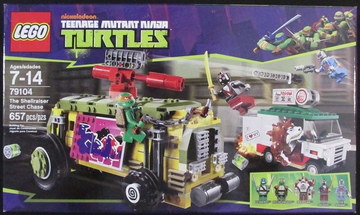 LEGO Set-The Shellraiser Street Chase (Technic Base Version)-Teenage Mutant Ninja Turtles-79104-B-1-Creative Brick Builders