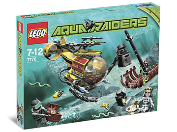 LEGO Set-The Shipwreck-Aquazone / Aquaraiders II-7776-1-Creative Brick Builders