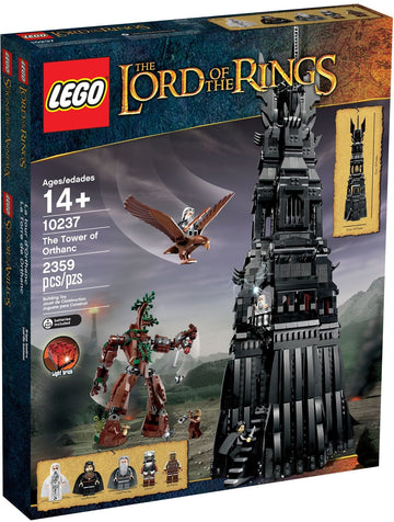 LEGO Set-The Tower of Orthanc-The Hobbit and the Lord of the Rings / The Lord of the Rings-10237-1-Creative Brick Builders