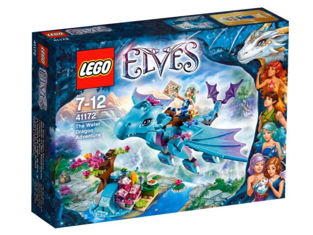 LEGO Set-The Water Dragon Adventure-Elves-41172-1-Creative Brick Builders