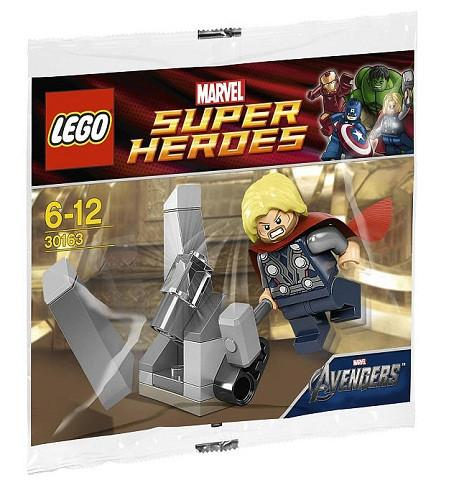 LEGO Set-Thor and the Cosmic Cube (Polybag)-Super Heroes / Avengers-30163-1-Creative Brick Builders