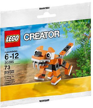 LEGO Set-Tiger (Polybag)-Creator / Basic Model / Creature-30285-1-Creative Brick Builders