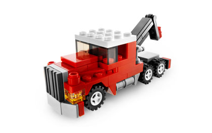 LEGO Set-Tow Truck (Polybag)-Creator / Basic Model / Traffic-20008-1-Creative Brick Builders
