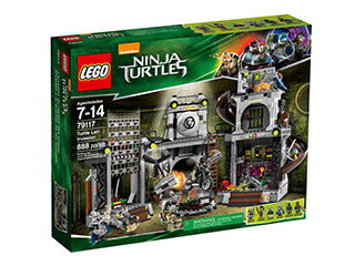 LEGO Set-Turtle Lair Invasion-Teenage Mutant Ninja Turtles-79117-1-Creative Brick Builders