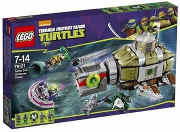 LEGO Set-Turtle Sub Undersea Chase-Teenage Mutant Ninja Turtles-79121-1-Creative Brick Builders