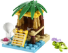 LEGO Set-Turtle's Little Oasis (Polybag)-Friends-41019-1-Creative Brick Builders