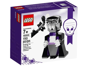LEGO Set-Vampire and Bat-Holiday / Halloween-40203-1-Creative Brick Builders