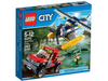 LEGO Set-Water Plane Chase-Town / City / Police-60070-1-Creative Brick Builders
