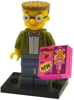 LEGO Minifigure-Waylon Smithers-Collectible Minifigures / The Simpsons Series 2-COLSIM2-15-Creative Brick Builders