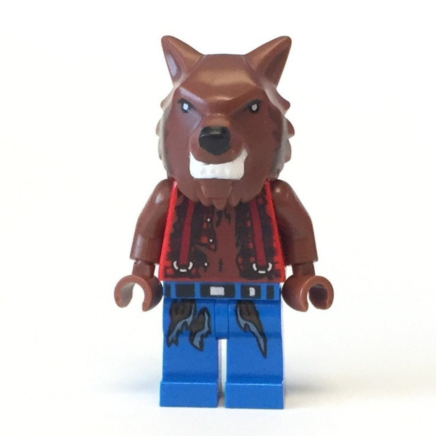 LEGO Minifigure-Werewolf-Monster Fighters-MOF003-Creative Brick Builders