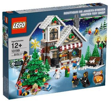 LEGO Set-Winter Toy Shop (2009)-Holiday / Christmas-10199-1-Creative Brick Builders