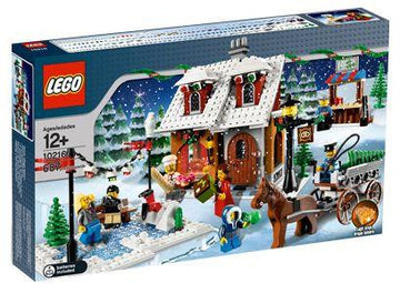 LEGO Set-Winter Village Bakery-Holiday / Christmas-10216-1-Creative Brick Builders