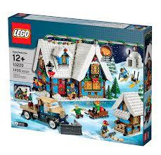 LEGO Set-Winter Village Cottage-Holiday / Christmas-10229-1-Creative Brick Builders