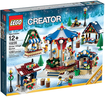 LEGO Set-Winter Village Market-Holiday / Christmas-10235-1-Creative Brick Builders