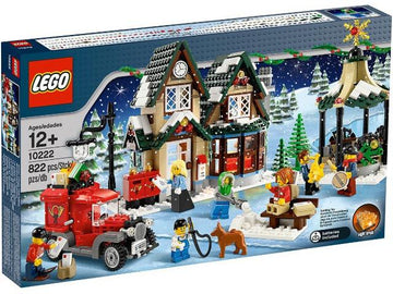 LEGO Set-Winter Village Post Office-Holiday / Christmas-10222-1-Creative Brick Builders