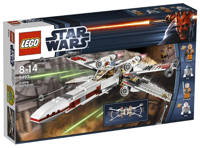 LEGO Set-X-wing Starfighter-Star Wars / Star Wars Episode 4/5/6-9493-1-Creative Brick Builders