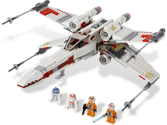 LEGO Set-X-wing Starfighter-Star Wars / Star Wars Episode 4/5/6-9493-4-Creative Brick Builders