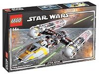 LEGO Set-Y-wing Attack Starfighter - UCS-Star Wars / Ultimate Collector Series / Star Wars Episode 4/5/6-10134-1-Creative Brick Builders