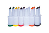Recipiente Despachador 1/4 con tapa 12 Pack Colores surtido