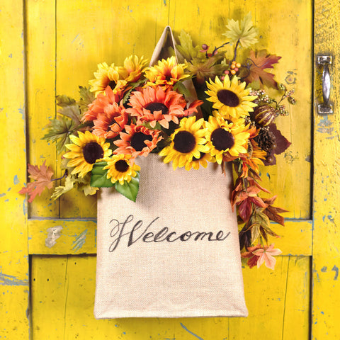 Burlap Welcome Bag