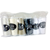 Polyester Designer's Choice Serger Thread 6 Spools (1640 yards each)