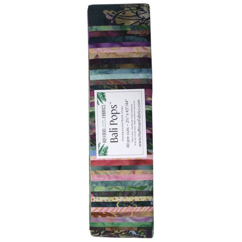 Hoffman Bali Pops Fabric Strip Bundle - Parfait