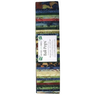 Hoffman Bali Pops Fabric Strip Bundle - Tiramisu