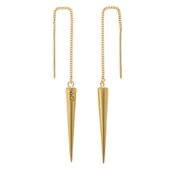 Spike drop earrings GL