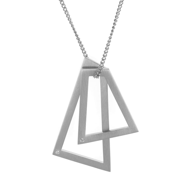 Rocker necklace silver