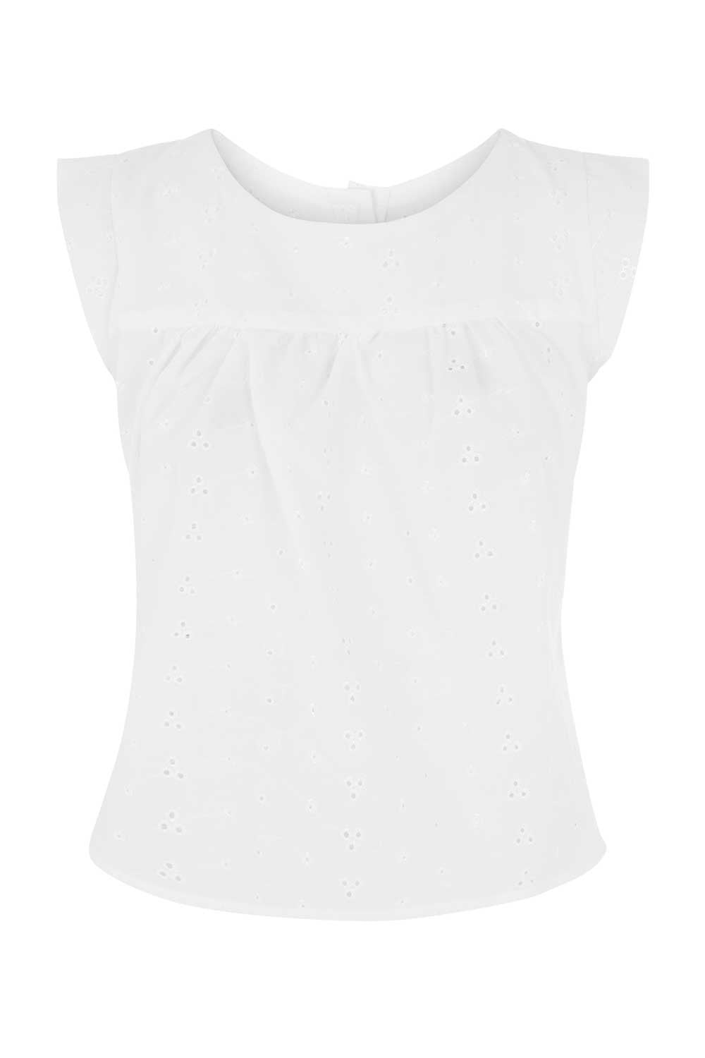 The Smock Top - Broderie Anglaise