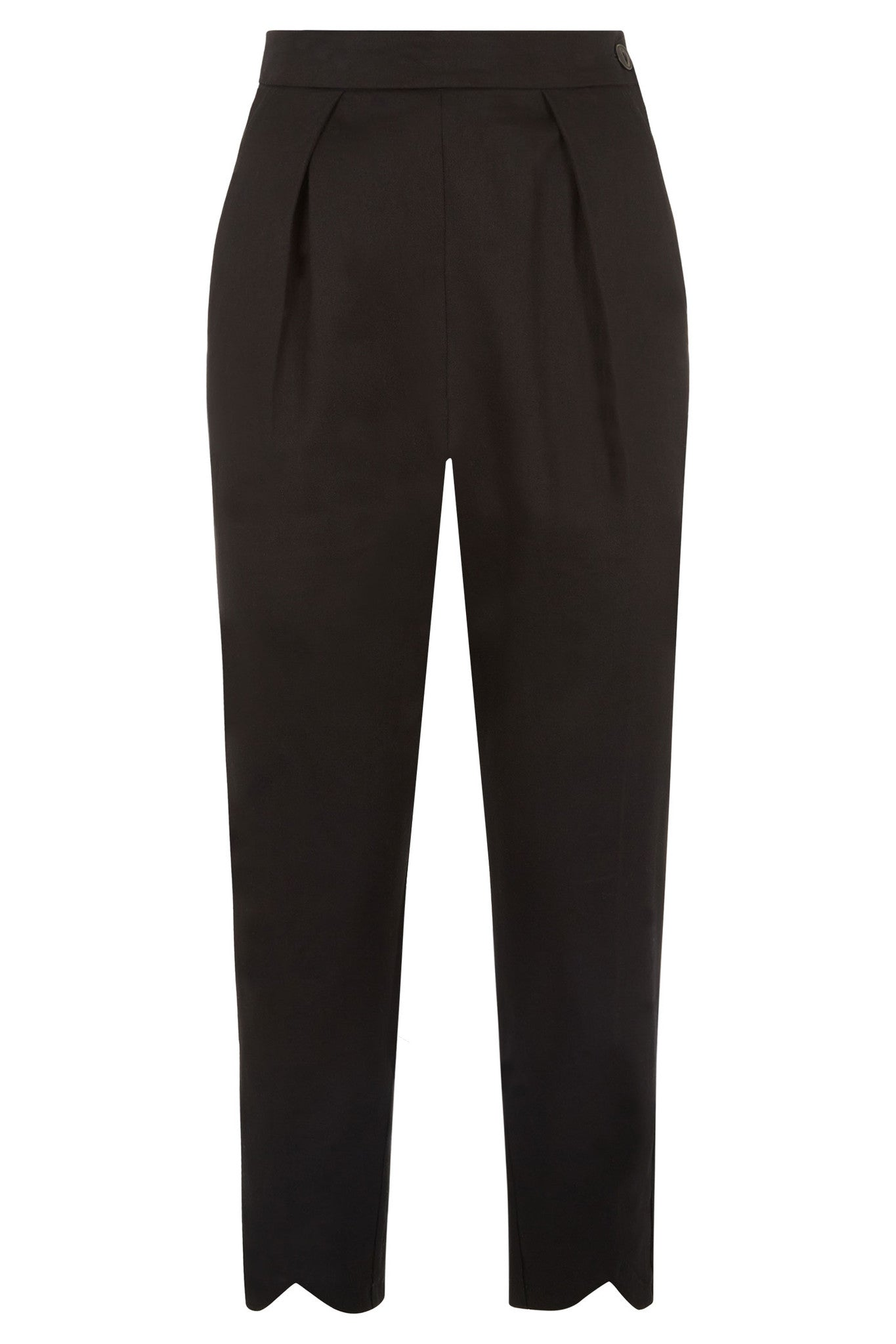 The Cotton Capris - Black