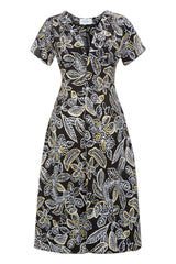 The Tea Dress - Batik Floral