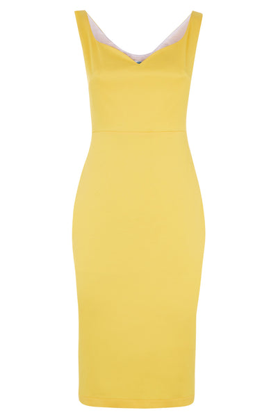 The Peggy Dress - Yellow