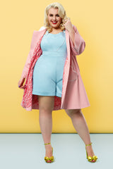 The Loveheart Romper - Bonbon Blue