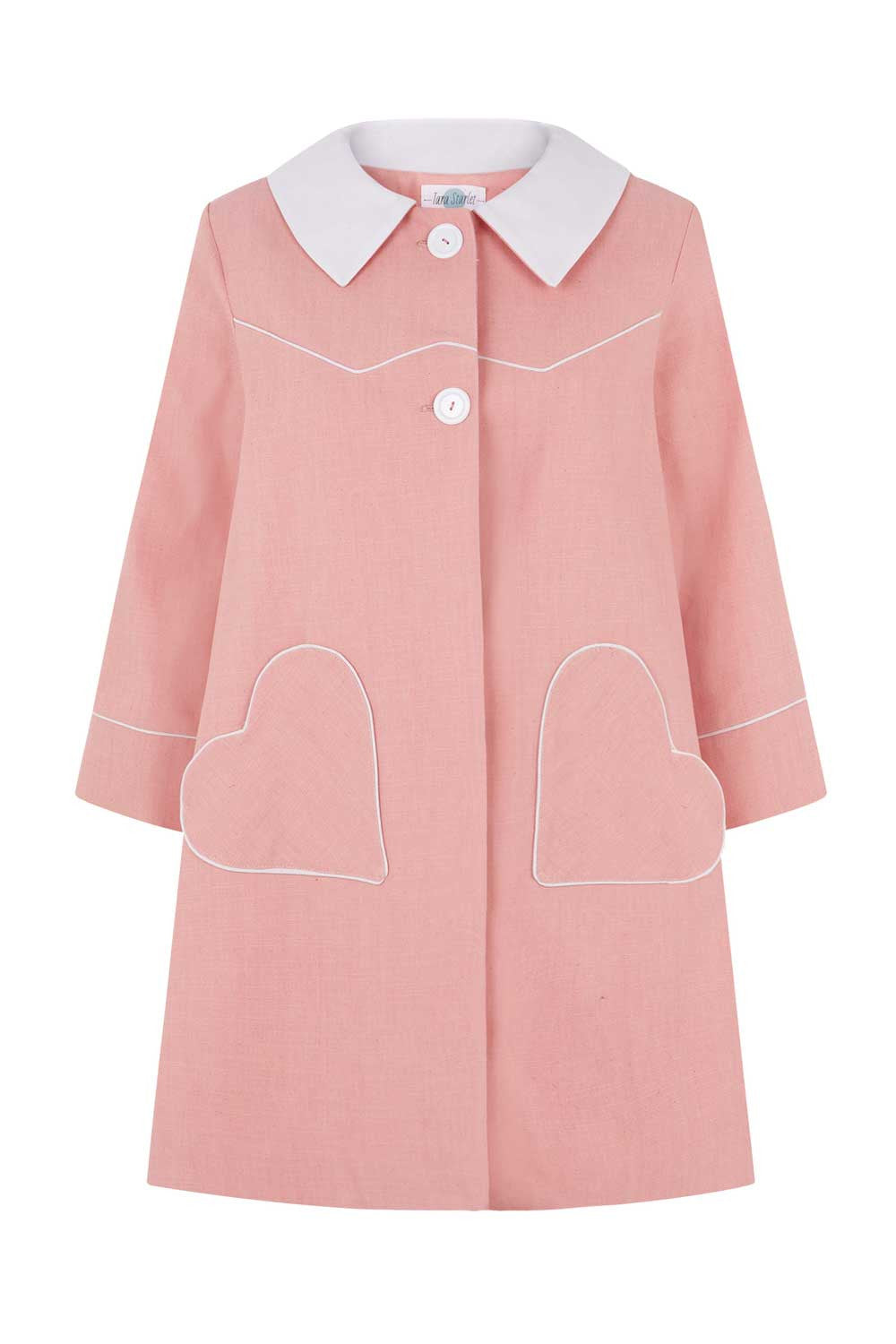 The Loveheart Coat - Pink