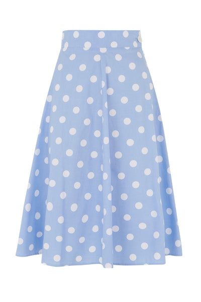 The Playtime Skirt - Blue Spot