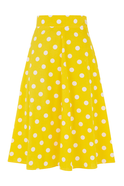 The Playtime Skirt - Yellow Spot