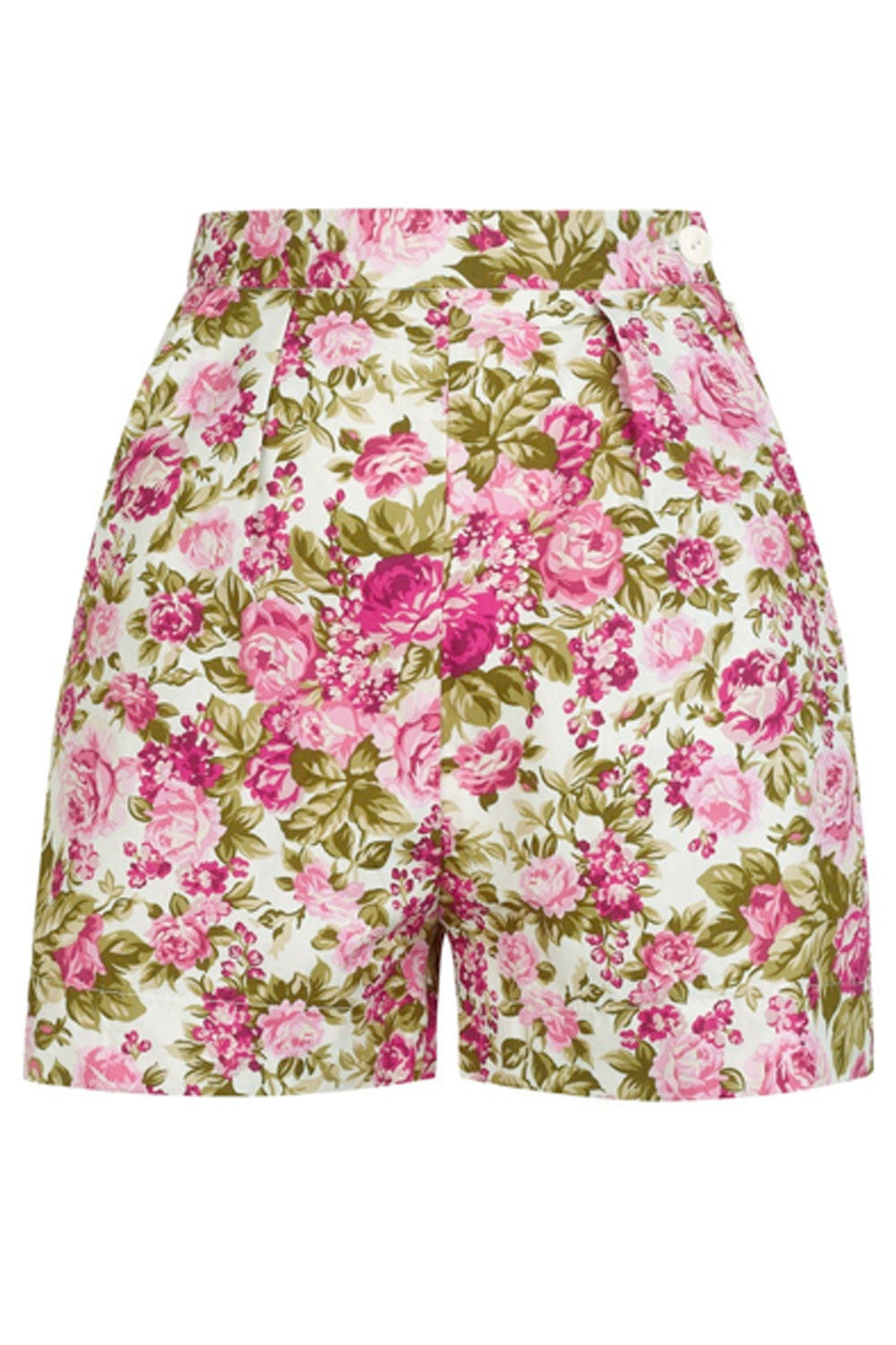 The Printed Shorts - Pink Floral