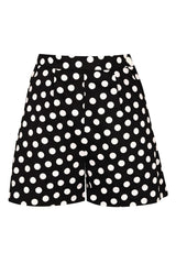The Polkadot Shorts - Black
